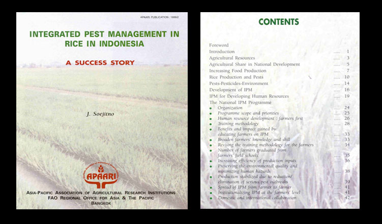 Integrated Pest Management in Rice in Indonesia
