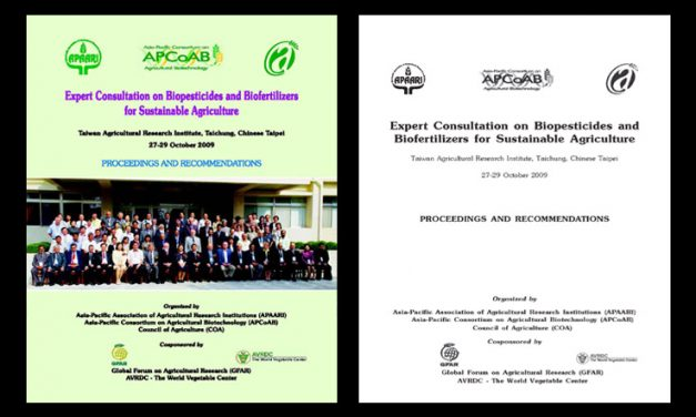 Expert Consultation on Biopesticides and Biofertilizers for Sustainable Agriculture, 27-29 October 2009 – Proceedings