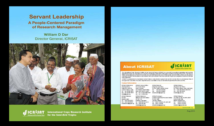 Servant Leadership: A People-Centered Paradigm of Research Management