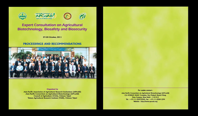 Expert Consultation on Agricultural Biotechnology, Biosafety and Biosecurity – 27-28 October 2011 – Proceedings