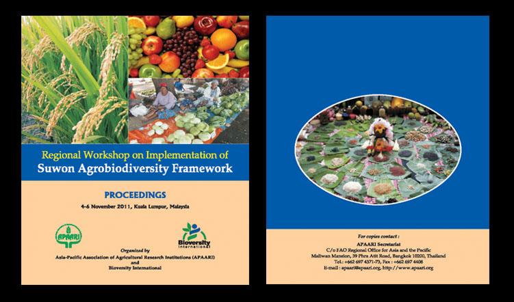 Regional Workshop on Implementation of Suwon Agrobiodiversity Framework, 4-6 November 2011 – Proceedings