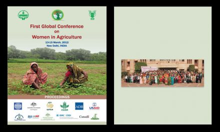 First Global Conference on Women in Agriculture (GCWA), 13-15 March 2012 – Proceedings