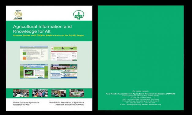 Agricultural Information and Knowledge for All: ICT/ICM in AR4D in Asia an the Pacific Region