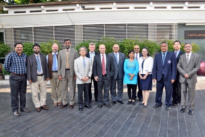 Executive Committee Meeting, 22 April, 2014, Bangkok, Thailand