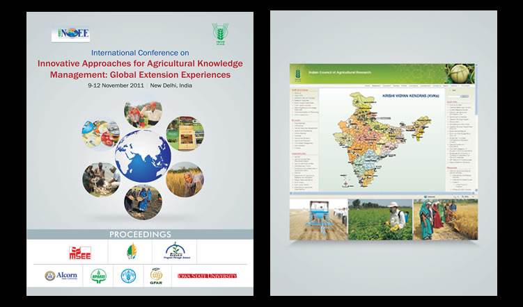 International Conference on Innovative Approaches for Agricultural Knowledge Management: Global Extension Experiences, 9-12 November 2011 – Proceedings