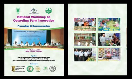 National Workshop on Outscaling Farm Innovations