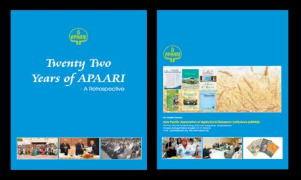 Twenty Two Years of APAARI – a Retrospective