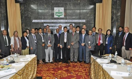 The 1st APAARI Executive Committee Meeting in 2015 held in Bangkok