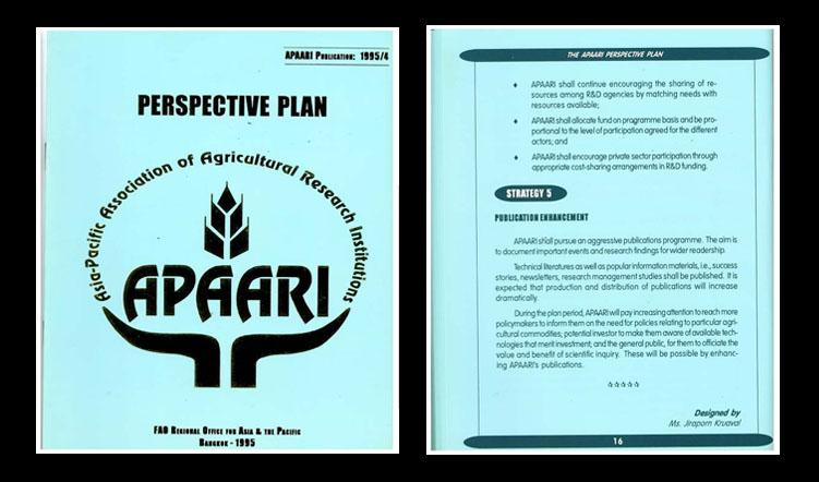 APAARI Perspective Plan 1995