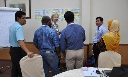 """Capacity Development Workshop on """"Planning, Monitoring and Evaluation towards Measuring Outcomes and Impacts"""" at MARDI Training Centre, Kuala Lumpur, Malaysia on 3-7 August 2015"""