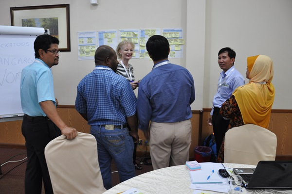 "Capacity Development Workshop on ""Planning, Monitoring and Evaluation towards Measuring Outcomes and Impacts"" at MARDI Training Centre, Kuala Lumpur, Malaysia on 3-7 August 2015"
