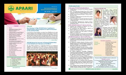 APAARI Newsletter, Vol. 25 (1), June 2016