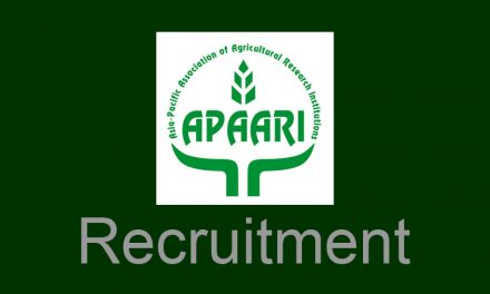 Recruitment of APAARI Partnership and Outreach Coordinator