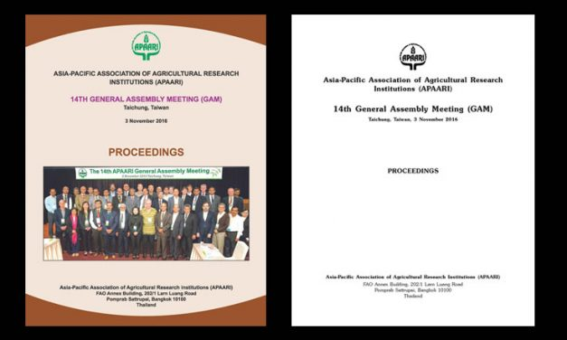 14th General Assembly Meeting, 3 November 2016, Taichung, Taiwan