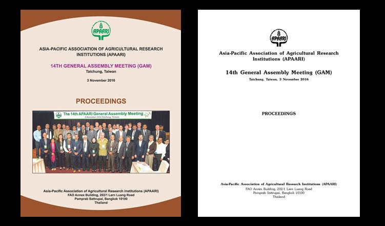 14th General Assembly Meeting, 3 November 2016, Taichung, Taiwan