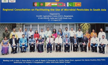 SAARC Regional Consultation on 'Facilitating the use of microbial pesticides in South Asia'