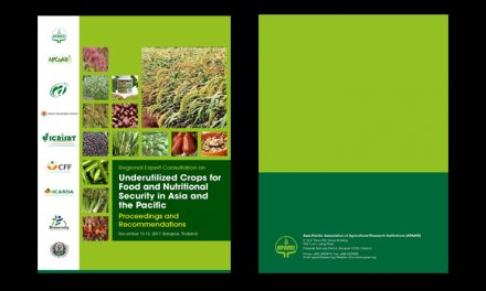 Regional Expert Consultation on Underutilized Crops for Food and Nutritional Security in Asia and the Pacific, 13-15 November 2017, Bangkok, Thailand