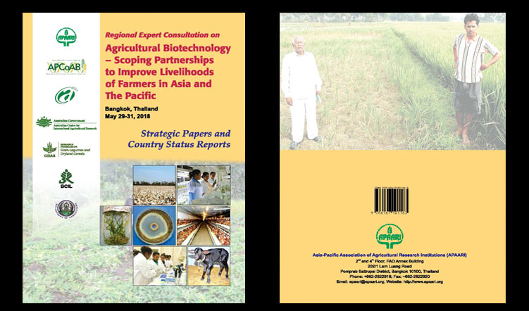 Agricultural Biotechnology – Scoping Partnerships to Improve Livelihoods of Farmers in Asia and the Pacific: Strategic Papers and Country Status Reports