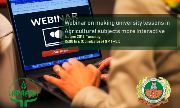 Webinar on Making University Lessons more Interactive, 4 June 2019