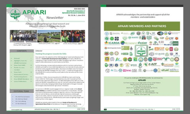 APAARI Newsletter, Vol. 28(1), June 2019