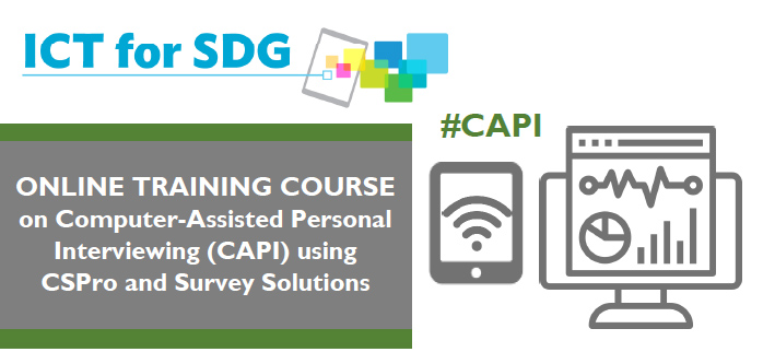Online Training Course on Computer-Assisted Personal Interviewing (CAPI) using CSPro and Survey Solutions