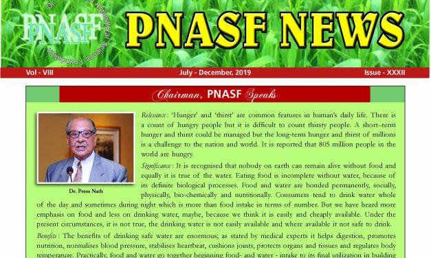 PNASF News July – December 2019, Issue – XXXII