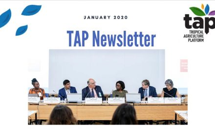 TAP Newsletter January 2020