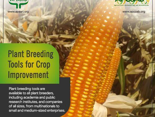 Plant Breeding Tools for Crop Improvement