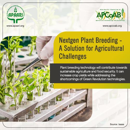 Nextgen Plant Breeding – A Solution for Agricultural Challenges