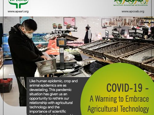 COVID19 – A Warning to Embrace Agricultural Technology