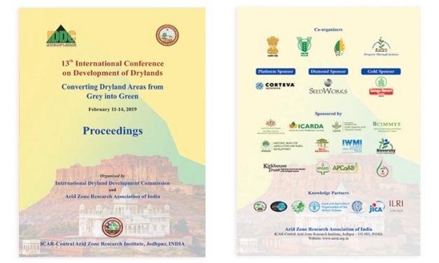 13th International Conference on Development of Drylands – Proceedings