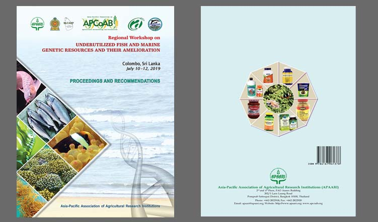 Regional Workshop on Underutilized Fish and Marine Genetic Resources and their Amelioration –  Proceedings and Recommendations