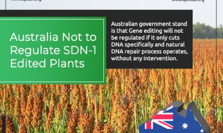 Australia NOT to Regulate SDN-1 Edited Plants