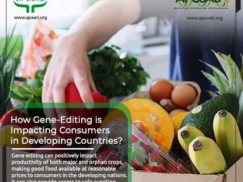 How Gene-Editing is Impacting Consumers in Developing Countries?