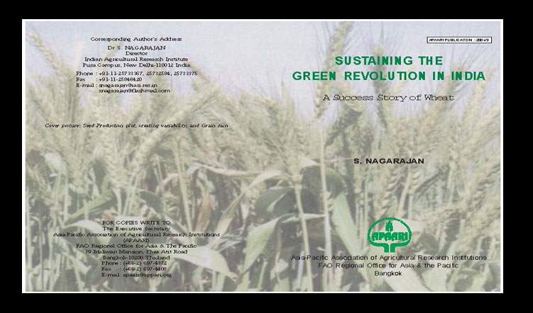Sustaining the Green Revolution in India