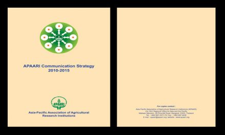 APAARI Communication Strategy 2010-2015