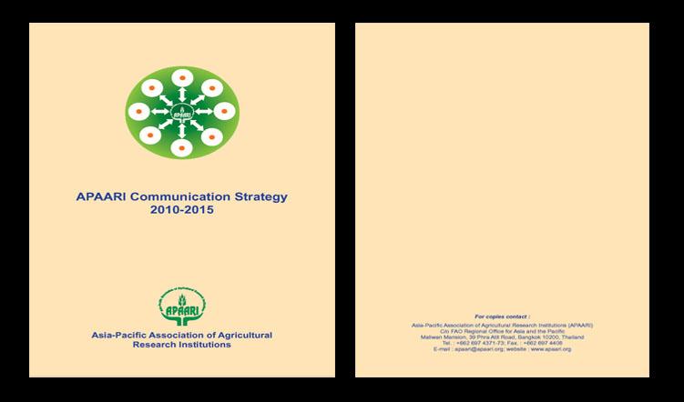 APAARI Communication Strategy 2010-2015