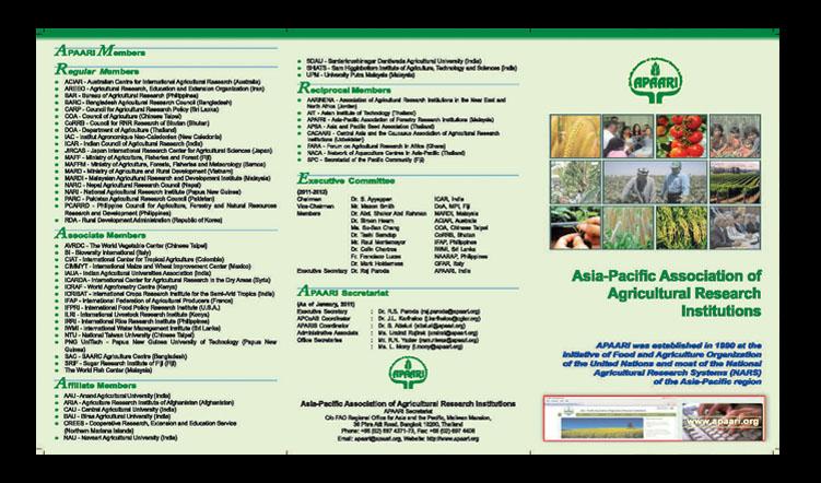 APAARI Flyer 2011