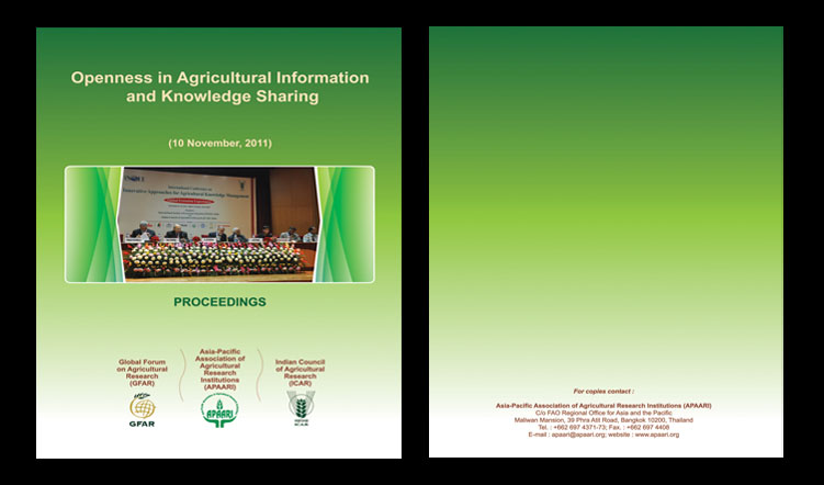Openness in Agricultural Information and Knowledge Sharing, 10 November 2011 – Proceedings