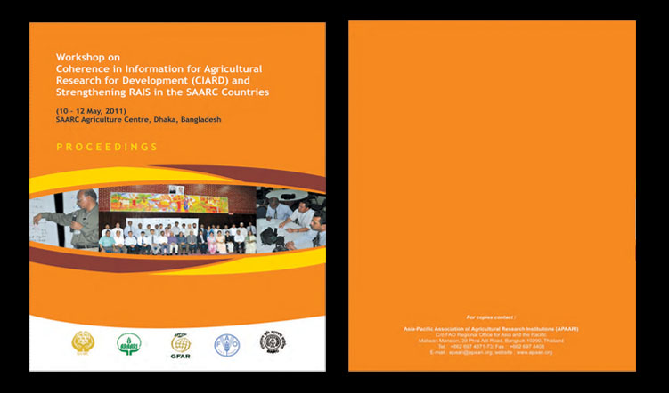Workshop on Coherence in Information for Agricultural Research for Development (CIARD) and Strengthening RAIS in the SAARC Countries, 10-12 May 2011 – Proceedings