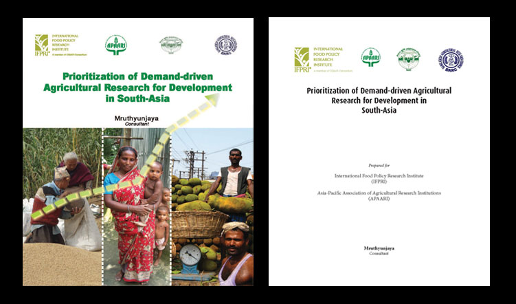 Prioritization of Demand-driven Agricultural Research for Development in South-Asia, 2011