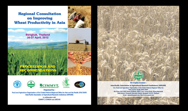 Regional Consultation on Improving Wheat Productivity in Asia, 26-27 April 2012 – Proceedings