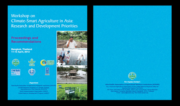 Workshop on Climate-Smart Agriculture in Asia: Research and Development Priorities, 11-12 April 2012 – Proceedings