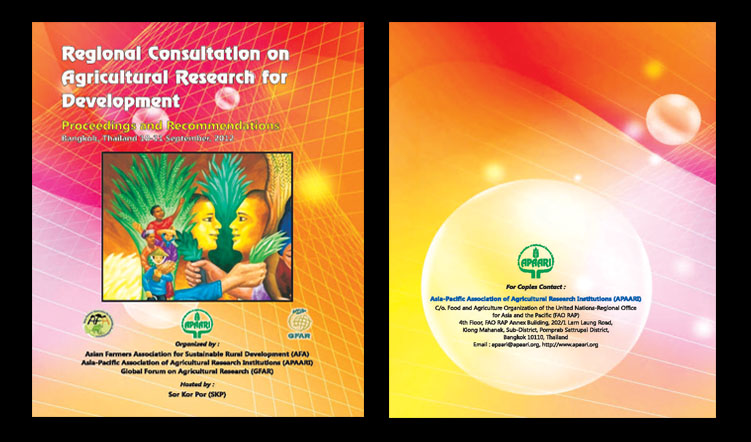 Regional Consultation on Agricultural Research for Development, 29 October–1 November 2012 – Proceedings