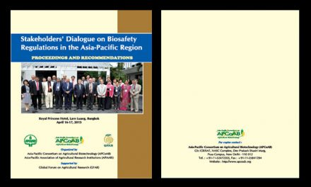 Stakeholders' Dialogue on Biosafety Regulations in the Asia-Pacific Region, 16-17 April 2013 – Proceedings