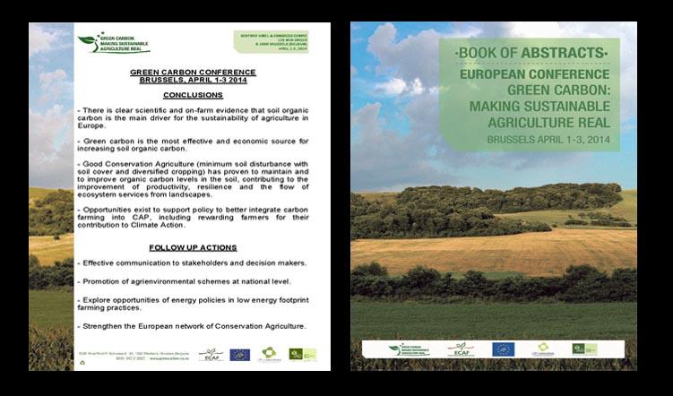 Green Carbon Conference, 1-3 April 2014, Brussels, Belgium