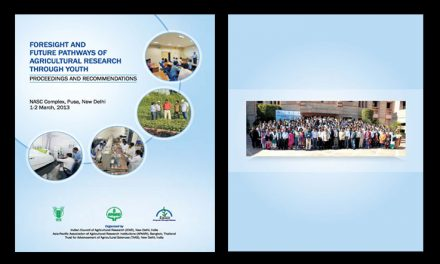 Foresight and Future Pathways of Agricultural Research through Youth, 1-2 March 2013 – Proceedings