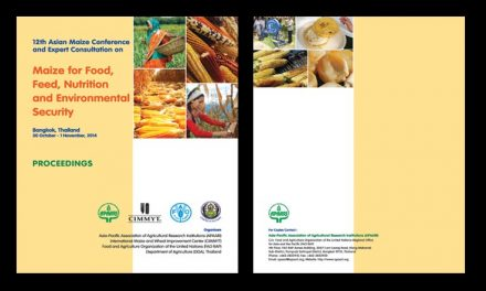 12th Asian Conference and Expert Consultation on Maize for Food, Feed, Nutrition and Environment Security, and APAARIGeneralAssemblyMeeting on 30 October –  1 November, 2014 at the  Hotel Rama Gardens, Bangkok, Thailand