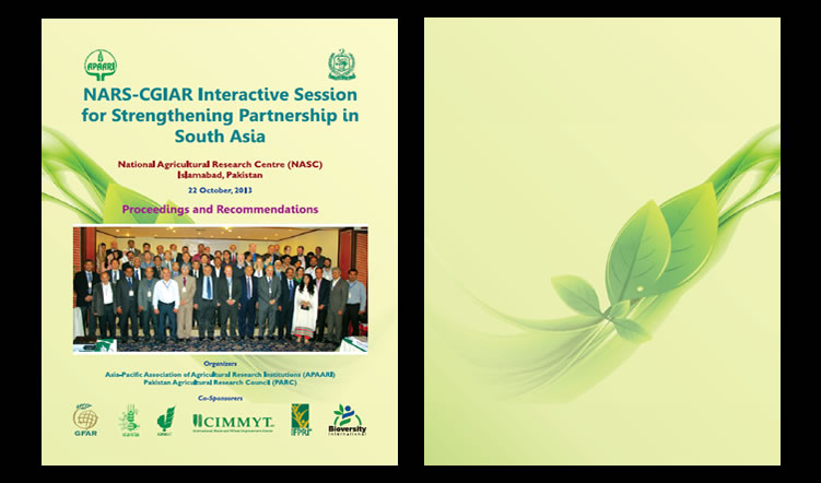 NARS-CGIAR Interactive Session for Strengthening Partnership in South Asia, 22 October 2013 – Proceedings