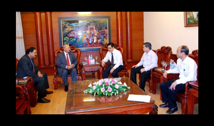 APAARI meeting with Agriculture Minister, Vietnam